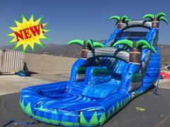 NEW 18' Blue Crush Water Slide