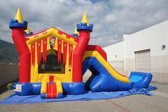 CASTLE COMBO WITH DRY SLIDE