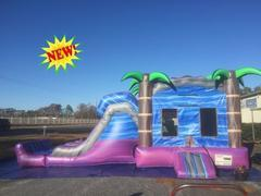 Purple Crush Combo Water Slide