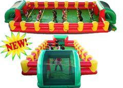 Human Foosball Life-size game 10 player