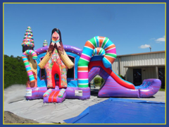 Sweet Shop Jumbo Combo Water Slide
