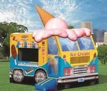 Strawberry Ice Cream Truck