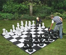 NEW Giant Chess Board game Jumbo Checkers