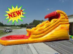 13' Little Lava Flow Water Slide