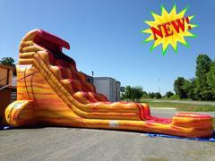 22' Lava Flow Water Slide