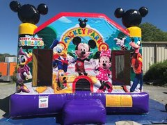 Disney Mickey Mouse Clubhouse castle bounce 15x15