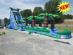 NEW 27' Mondo Crush Water Slide and Slip N Slide