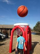 Monster Basketball  Single Hoop set up