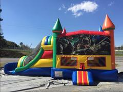 Teenage Mutant Ninja Turtles large Jumper and slide combo