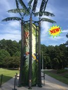 25' Coconut Tree Climb 3 Player Rock Climbing Wall