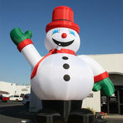 26 ft Inflatable  advertising Snowman