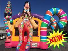 NEW Sugar Shack Bounce House