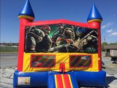 Ninja Turtles castle bounce 15x15