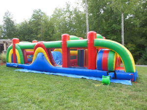 38 ft. OBSTACLE COURSE