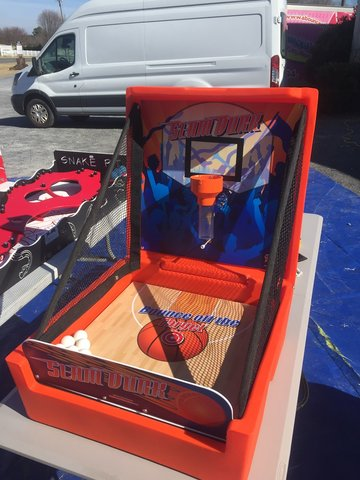 Slam Dunk Carnival Game Rental