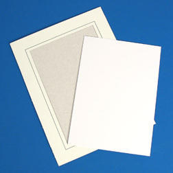 Spin Art Supplies 5x7 Cards and Frames qty 20