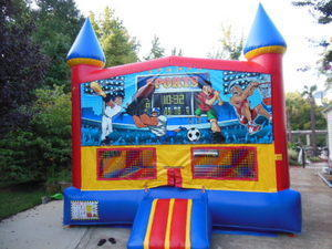 SPORTS CASTLE JUMPER