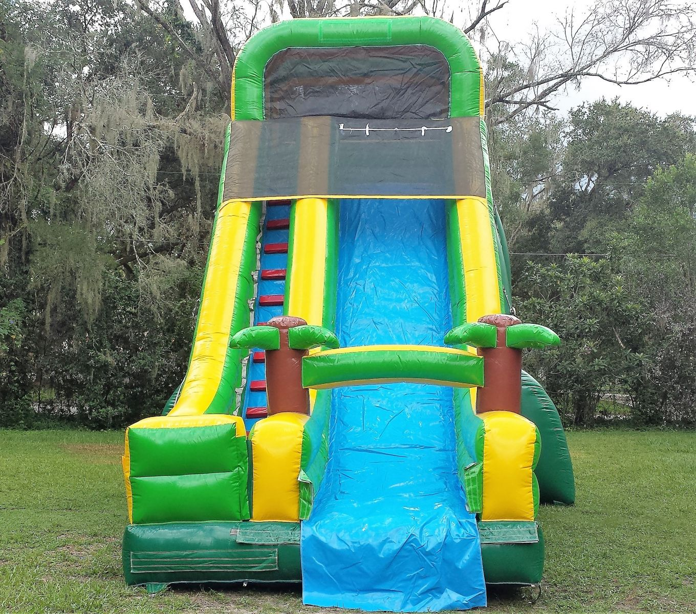 20ft Tropical Dry Slide Bounce House & Party Rentals