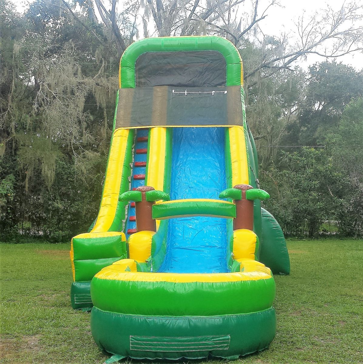 20ft Tropical Water Slide Bounce House & Party Rentals