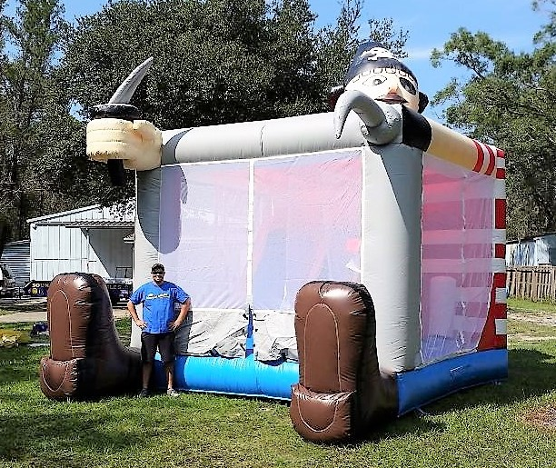 5 In 1 Buccaneer Playland Combo Bounce House Tampa