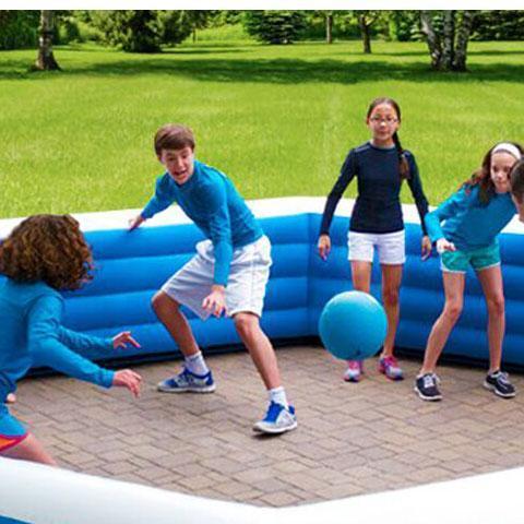 gaga ball pit game bouncealotinflatablescom tampa fl