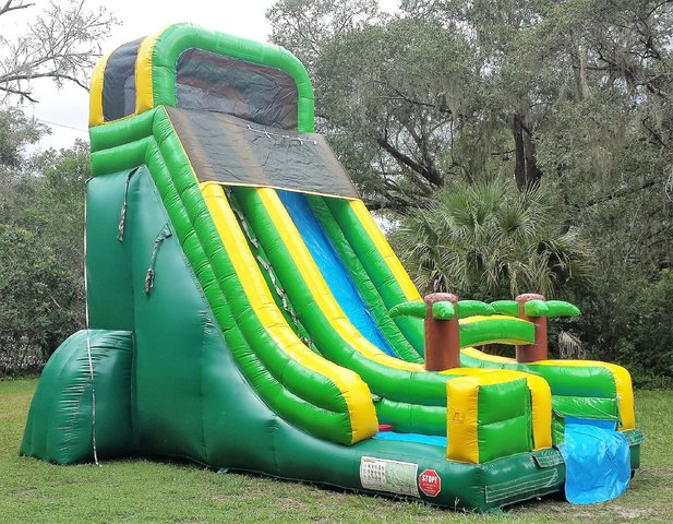 *NEW*  20ft Tropical Dry Slide UNIT #549