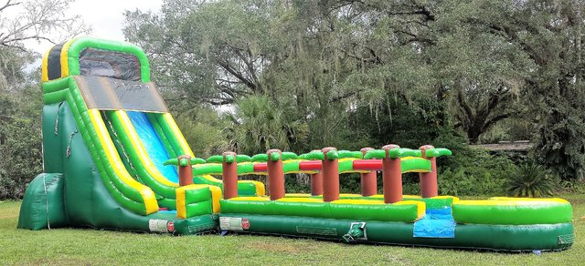 *NEW* 20ft Tropical Runout Inner Tube Water Slide - UNITS #549+530