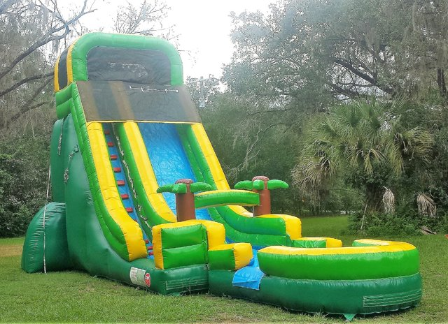 * NEW* 20ft Tropical Water Slide  - UNIT #549+609