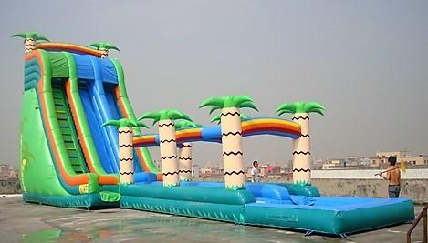 NEW - 30ft Tall *HUGE* Thunder Bay Two Lane Water Slide - UNITS #512+513