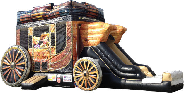 *NEW* 4 in 1 Wild West Cowboy Stagecoach WET Combo - UNIT #224