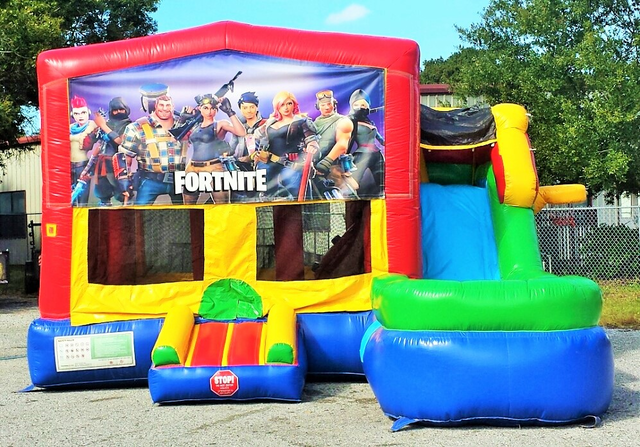 fortnite multi colored 6 in 1 ultimate dry combo unit - fortnite party jumper