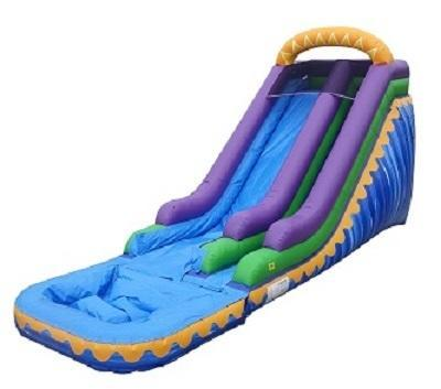 *ON SPECIAL for a LIMITED TIME - *NEW* 18ft Sunrise Surfer Water Slide w/ POOL - UNIT #542