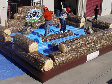 *NEW* Lagoon Of Doom DRY Log Rolling Game - UNIT #339