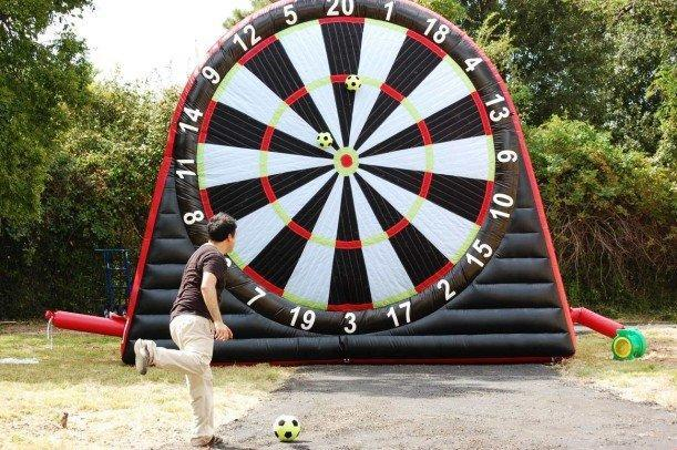 *NEW* GIANT Velcro Soccer Darts UNIT #327