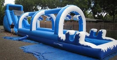 18ft Arctic Blast *LONG* Inner Tube Water Slide - UNITS #529+535