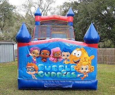 18ft Bubble Guppies WET Slide - UNIT #528