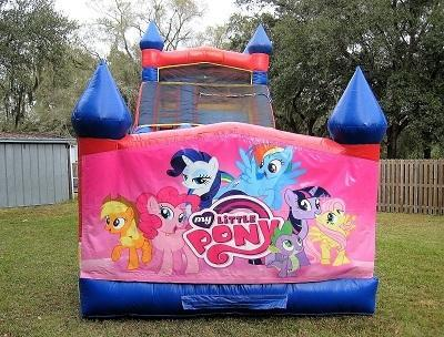 18ft My Little Pony WET Slide - UNIT #528
