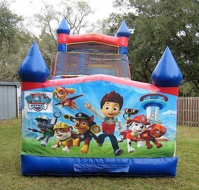 18ft Paw Patrol Dry Slide - UNIT #528