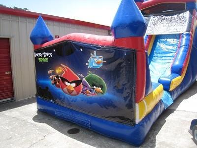 18ft Angry Birds In Space WET Slide - UNIT #528