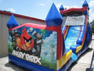 18ft Angry Birds Dry Slide - UNIT #528