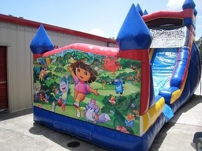 18ft Dora WET Slide - UNIT #528