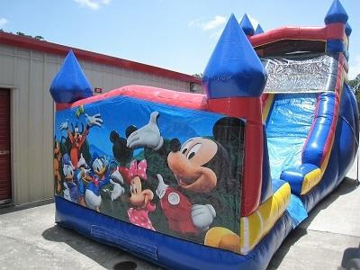 18ft Mickey and Friends WET Slide - UNIT #528
