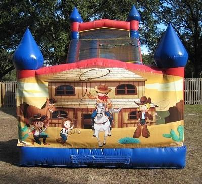 18ft Wild West WET Slide - UNIT #528