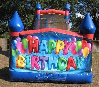 18ft Happy Birthday DRY Slide - UNIT #528