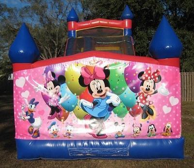 18ft Minnie Mouse Dry Slide - UNIT #528