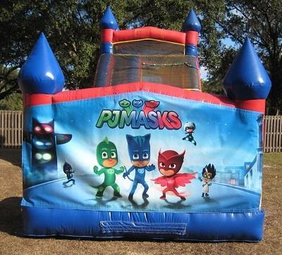 18ft PJ Mask WET Slide - UNIT #528
