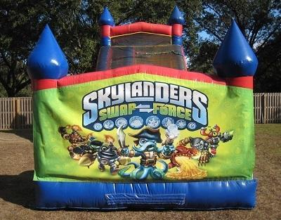18ft Skylanders Swap Force WET Slide - UNIT #528