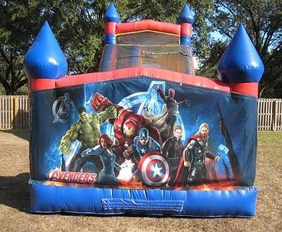 18ft Avengers WET Slide - UNIT #528