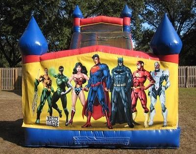 18ft Justice League WET Slide - UNIT #528