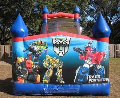 18ft Transformers WET Slide - UNIT #528
